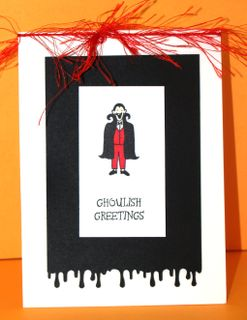 Ghoulish greetings