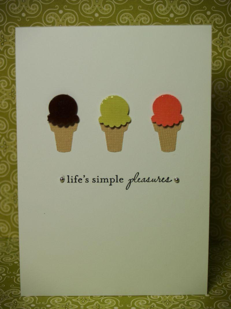 Life's simple pleasures